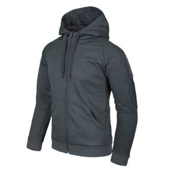 Helikon-Tex Urban Tactical Hoodie Fullzip - Black-Grey Melange