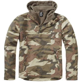Brandit Windbreaker - Light Woodland