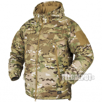 Helikon-Tex Level 7 Lightweight Winter Jacket Climashield Camogrom